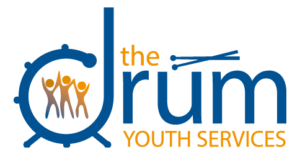 the drum youth services logo